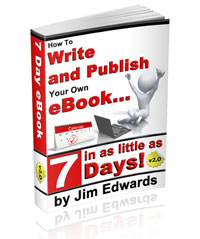 How To Write And Publish Your Own eBook In As Little As 7 Days - Cover image